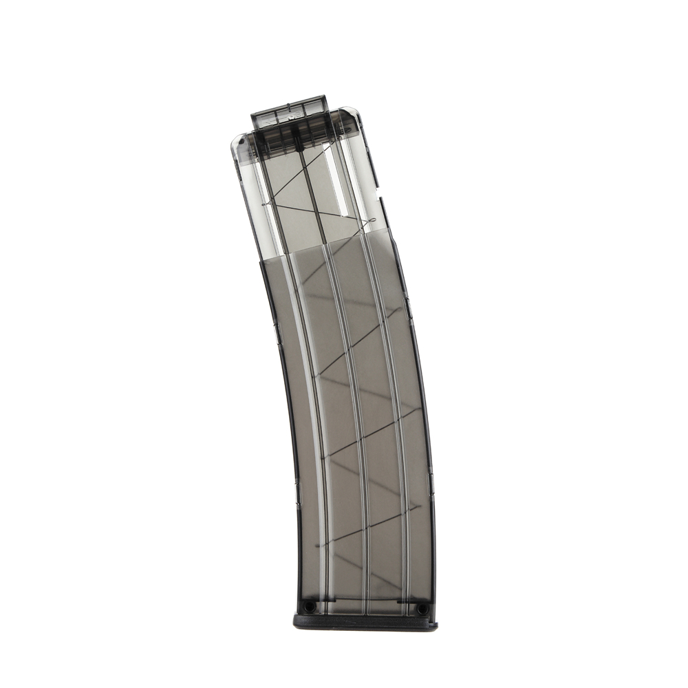 Clear WORKER 22-Darts Banana Magazine Clip Replacement for Nerf N-Strike Elite Toy